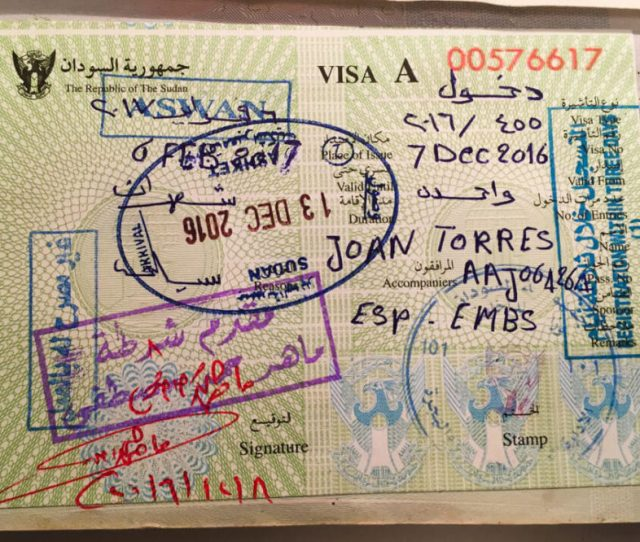 Sudanese Visa Application Form Canada, Sudan Visa, Sudanese Visa Application Form Canada