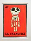 Title: La Calavera. Size: 20.5 x 29cm