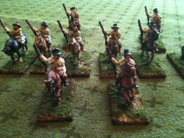 Kentucky rifles are the backbone of Burr's frontier army
