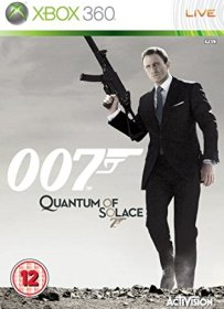 James Bond 007 Quantum Of Solace Xbox360