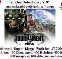 UT2004 spidey Selection v.2.01 for Torrent