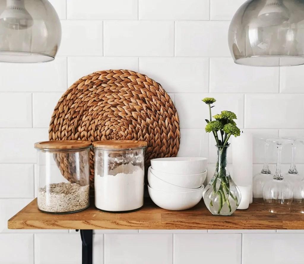 Reduce plastic - refill jars