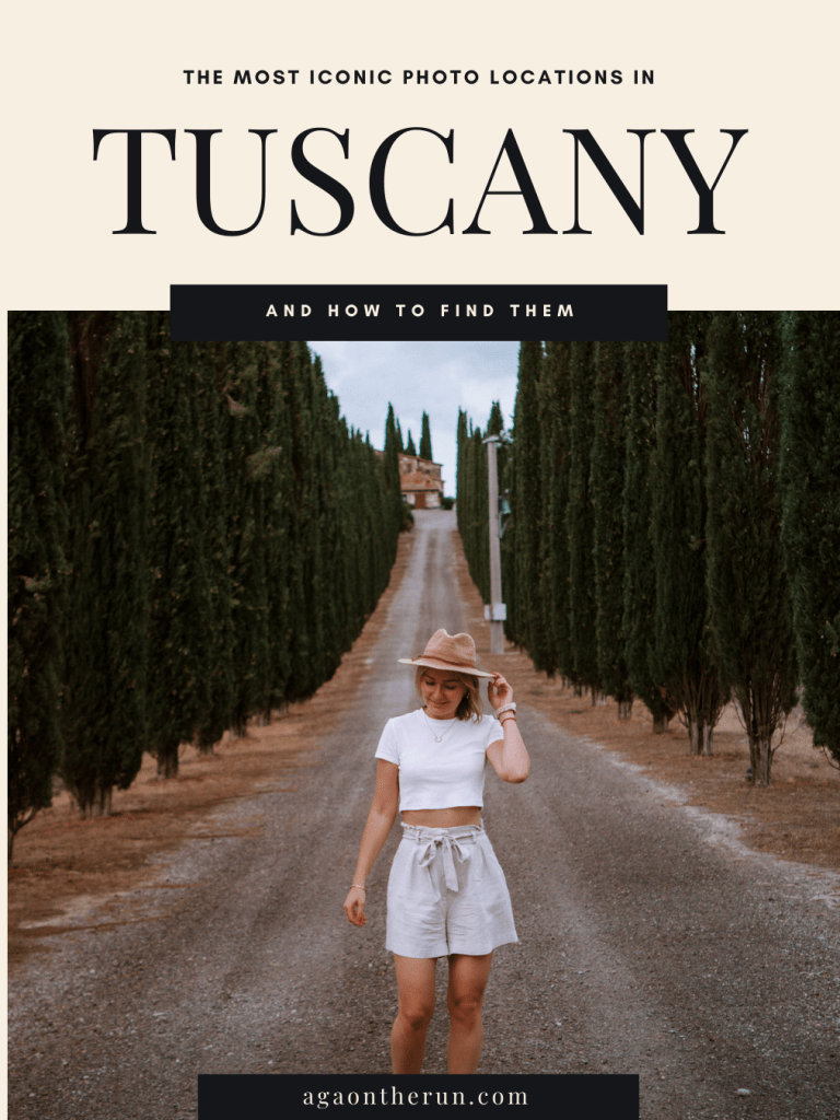 The most iconic photo locations in the Tuscan countryside