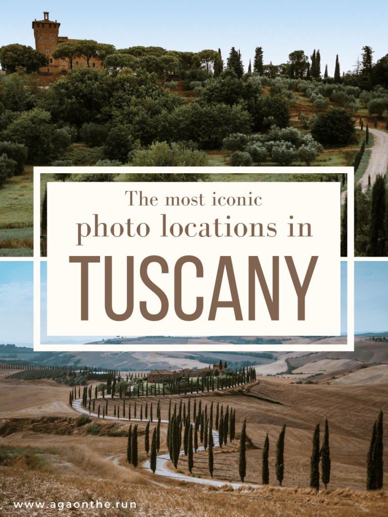 The best photo locations in the Tuscan countryside
