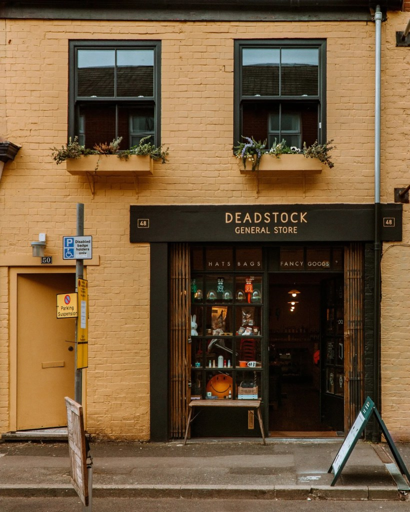 Deadstock General Store in Manchester
