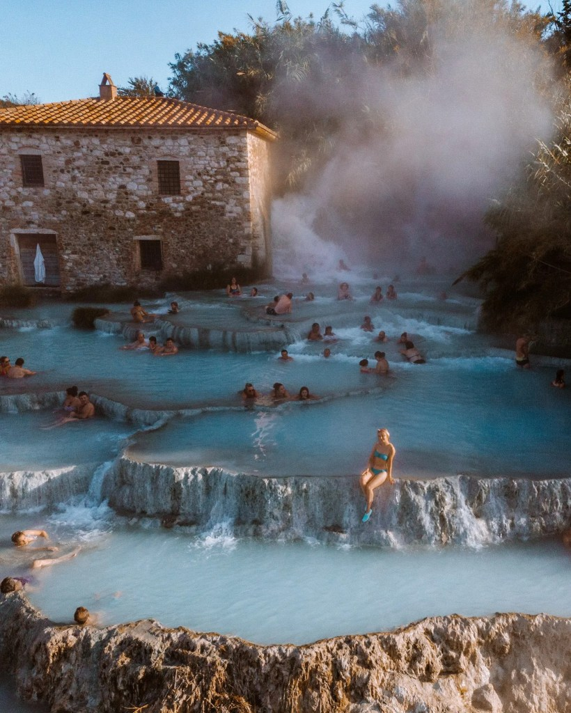 How to visit Cascate del Mulino   Saturnia hot springs in Italy