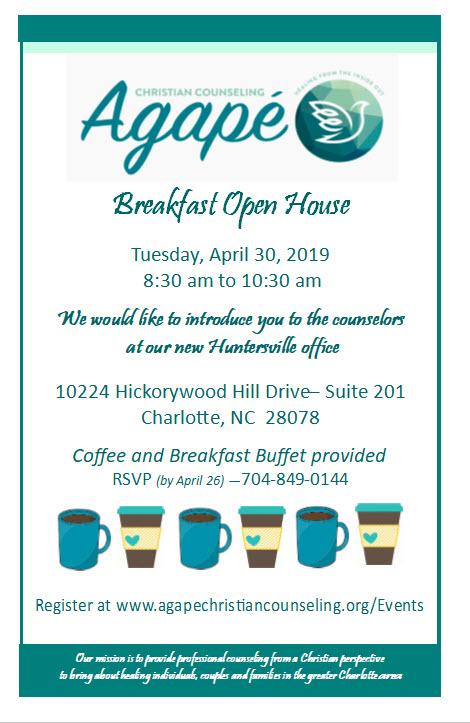 PDF of Huntersville Open House Invitation