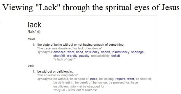 sermon on lack logo