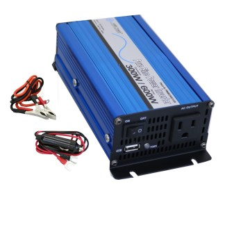 Aims PWRi30024S 24 VDC to 120 VDC 300 watts pure sine inverter