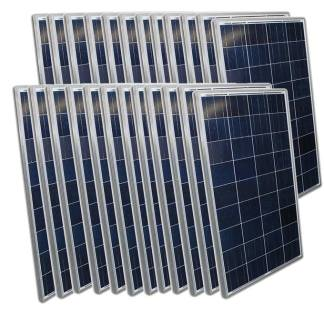 Aims Solar Panel 24 Pack