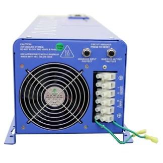Aims 6000 watt 48 VDC to 120/240 VAC pure sine inverter charger