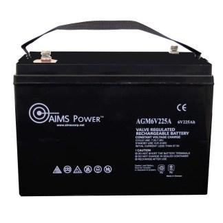 6 v 225 Ah AGM battery
