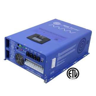 Aims 8 kw 48VDC to 120/240VAC pure sine inverter charger