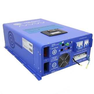 Aims 10 Kw 48 VDC to 120/240 VAC pure sine inverter charger