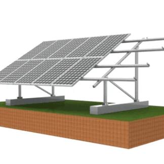 SOLAR RACK GROUND MOUNT FOR 250-375 WATT SOLAR PANELS