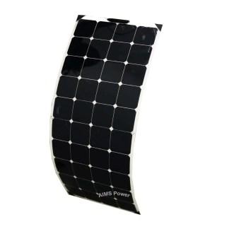 130 Watt Flexible Bendable Slim Solar Panel Monocrystalline