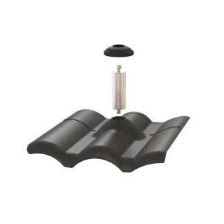 PEGSO PSTR-FWB0 Tile Roof W style flashing