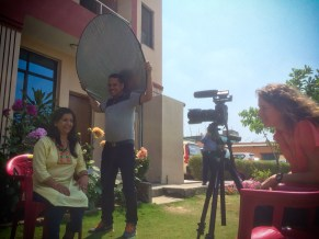 Filming Free the Slaves' Nepal Country Director, Neelam's, Interview