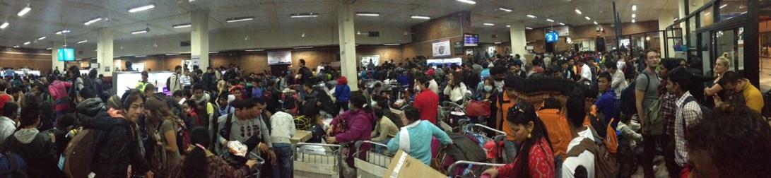 Baggage Claim Nightmares in Kathmandu Airport