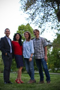 Jeff & Juhu, Cassie & Jordan — the NYATN production team