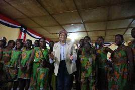 The President of Liberia, Ellen Johnson Sirleaf!