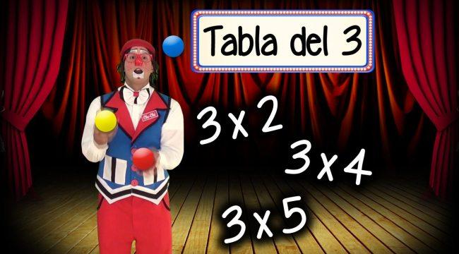 THUMB tabla del 3 multiplicacion