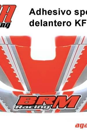 comprar pegatina spoiler delantero BRM Racing para KF_KZ