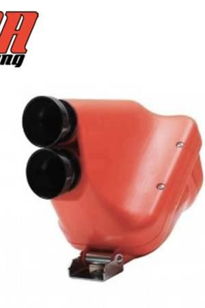 filtro de aire 30mm active para karts vista trasera