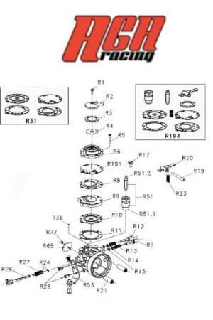 Carburador Tryton HB27