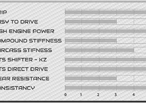 Tabla características neumático Vega blanca