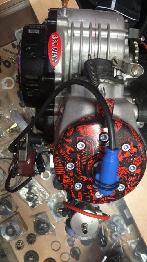 Motor tm k9 nuevo