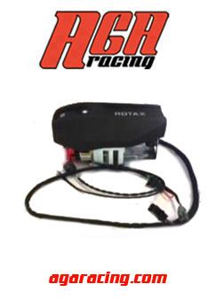 Soporte Batería + cableado motor Rotax Max