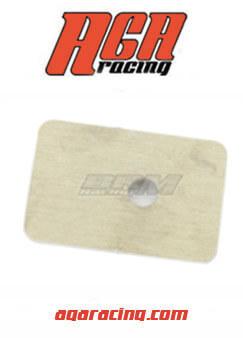 placa refuerzo asiento kart