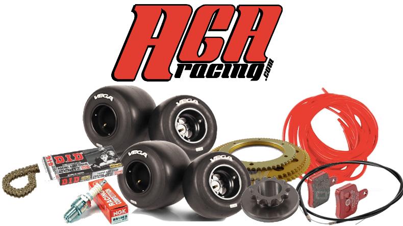 Piezas de recambio básico para un día de karting AGA Racing tienda karting