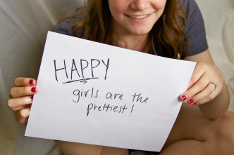 Colleen- Happy girls are the prettiest!