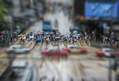 Visitar Hong Kong - Multitud de personas
