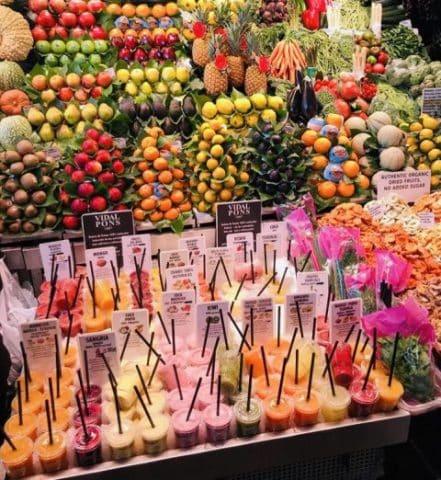 Frutas e verduras, Agarre o Mundo