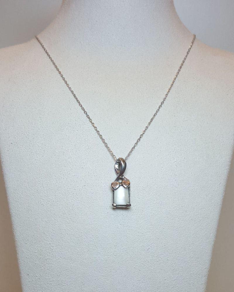 gümüş kolye