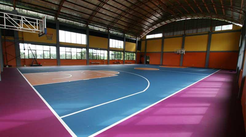 Jasa Pembuatan Lapangan Basket Indoor