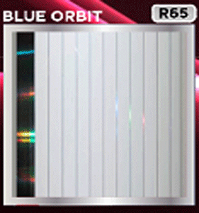 plafon pvc motif blue orbit