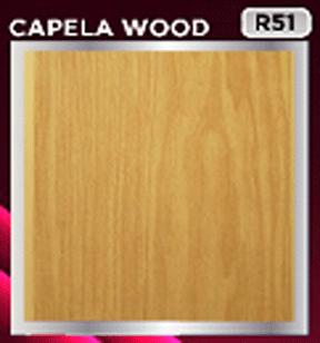 plafon pvc motif capela wood
