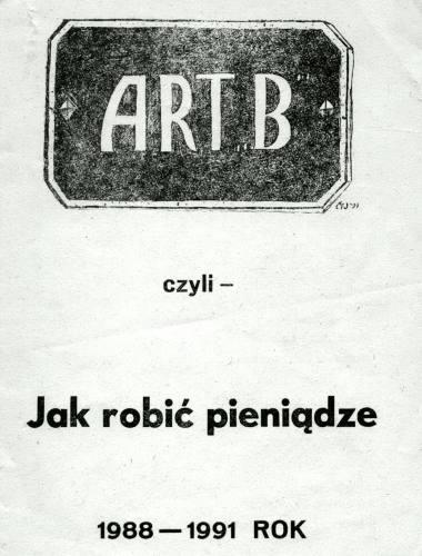 art b - jak robic pieniadze