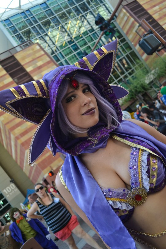 Megan Orzel poses for a picture at Comicon in downtown Phoenix Saturday afternoon.
