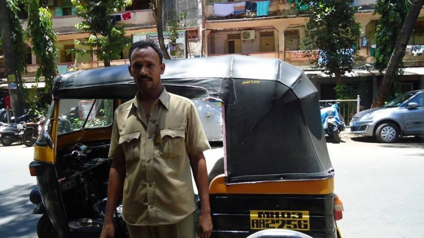 A Different Kind of Auto-Rickshaw Driver
