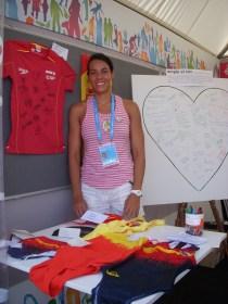 Patrícia Lledó, membre de l'organització