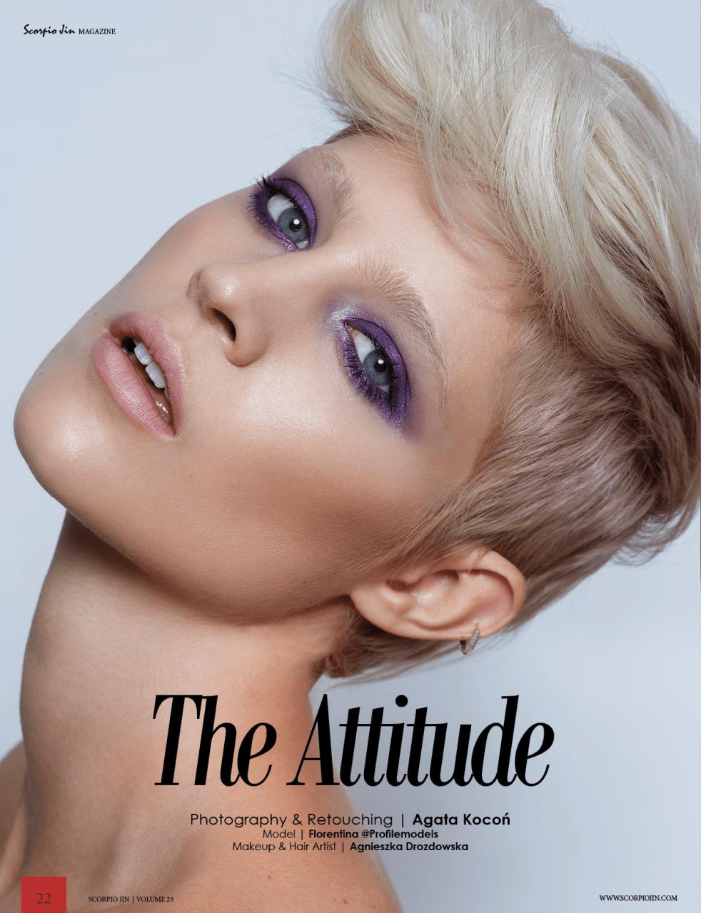 The Attitude – Scorpio Jin Magazine