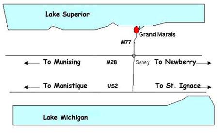 Grand Marais Map