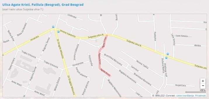 Ulica Agate Kristi