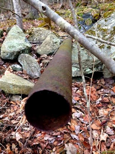 Rusty pipe....