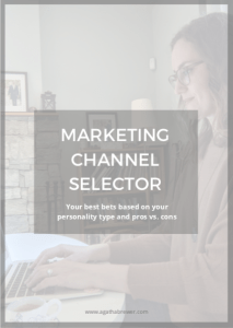 Marketing Channel Selector